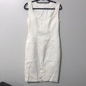 Dolce Gabbana off white dress